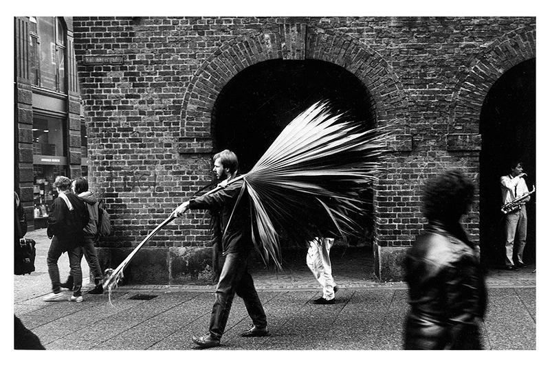Gatufoto i Köpenhamn på gång