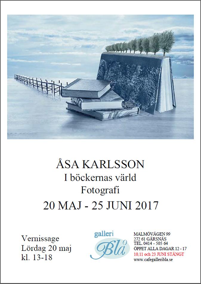 Utställning med Åsa Karlsson – 20 maj-25 juni