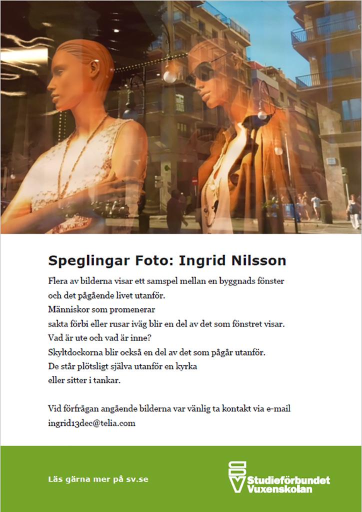 Ingrid Nilsson ställer ut